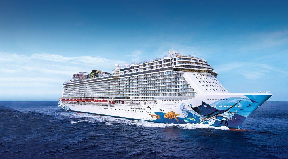 norwiegan cruise line escape