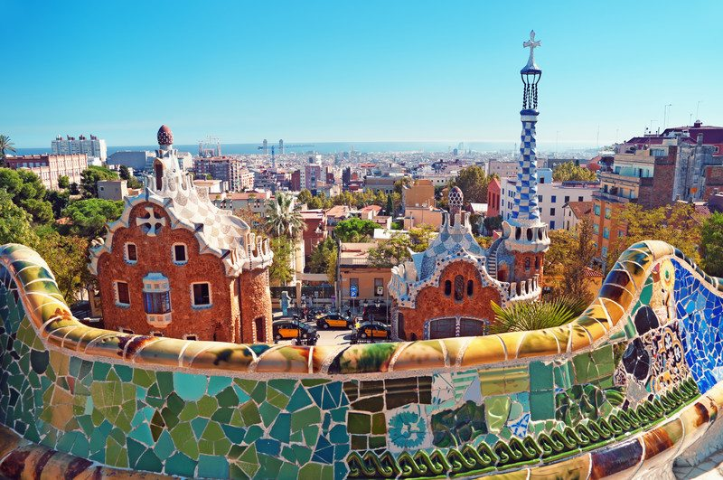 Vacationing In Barcelona, Spain